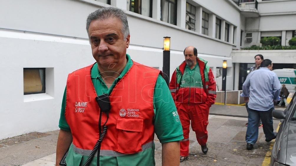 """Crescenti destaca que """"un error es una vida que se va"""" // Foto: Gustavo Amarelle"""