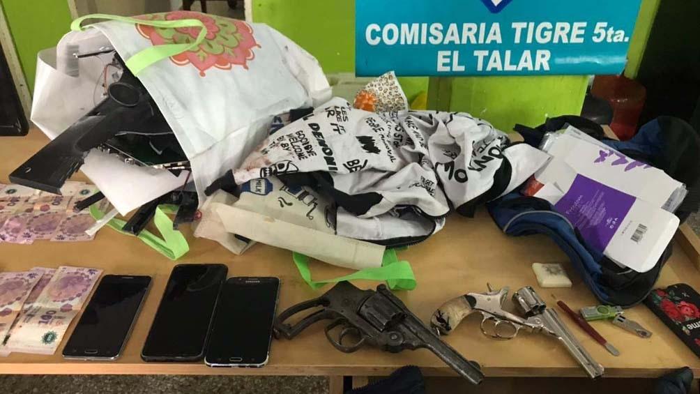 El o los asesinos habían robado dinero y varios elementos de valor. Foto: Prensa Ministerio de Seguridad.