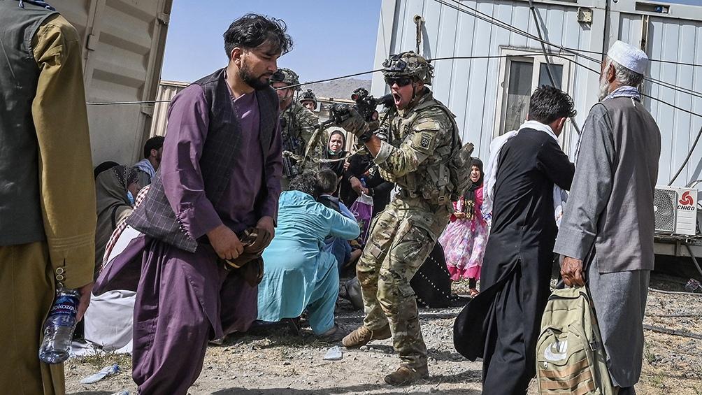Los talibanes han registrado los domicilios de al menos cuatro periodistas. Foto: AFP.