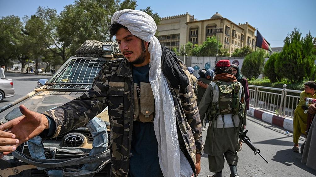 Este domingo, los talibanes anunciaron la toma de la capital afgana, Kabul.Foto: AFP.