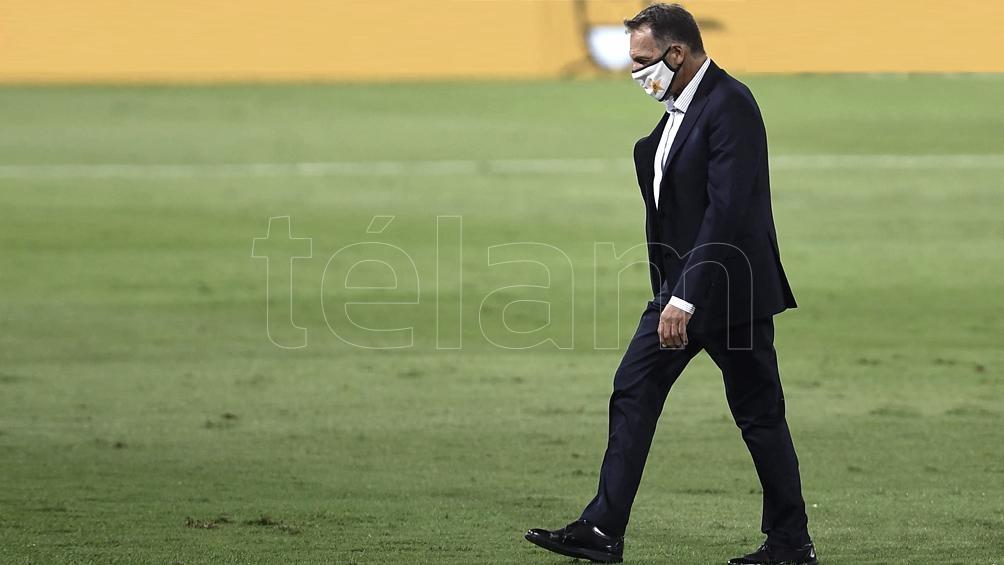 Russo fue despedido por el Consejo de Fútbol del club. Foto: R. Gomez.