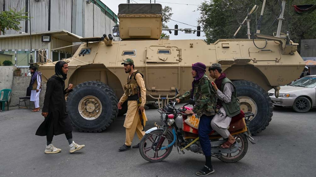 Los talibanes tomaron el poder en Afganistán. Foto: AFP.