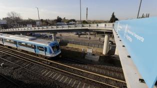 Inauguraron dos puentes modulares sobre las vías del Sarmiento en Ituzaingó
