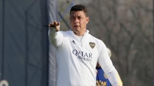 Fabra y Lisandro López volvieron a entrenar pero Cardona sigue diferenciado