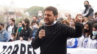 Cafiero y Santoro encabezarán una jornada sobre la salida de la pandemia