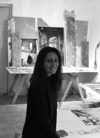 La artista visual platense Paula Toto Blake.