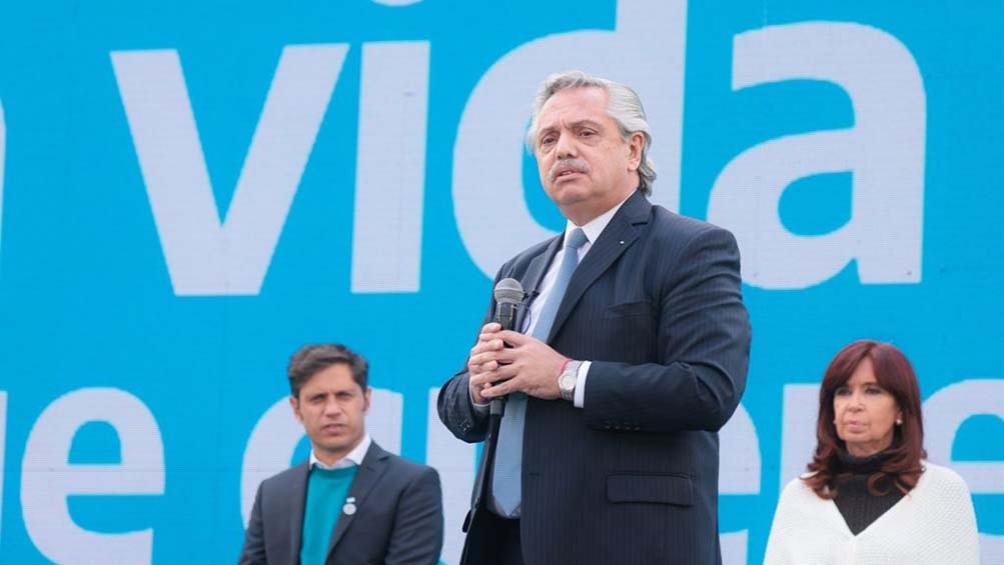 """Argentina es """"uno de los países que más vacunas ha aplicado"""" recordó el primer mandatario."""