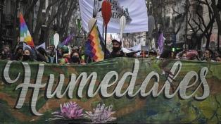Organizaciones socioambientales presentaron un petitorio para tratar la Ley de Humedales