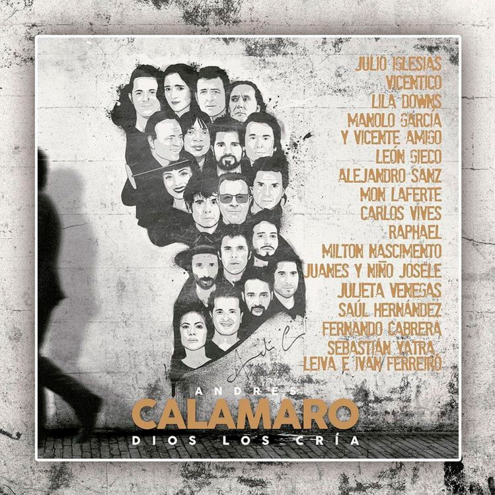Dios los cría: lo más reciente de Calamaro, destacado por la Billboard en el primer lugar de los 25 mejores discos latinos.