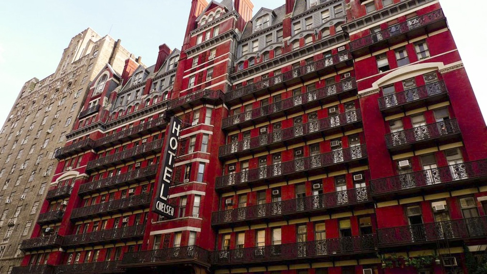 La fachada del Chelsea Hotel.