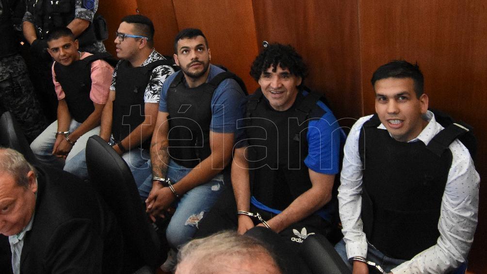 En estos días se desarrolla el juicio al jefe de la narcobanda Los Monos.