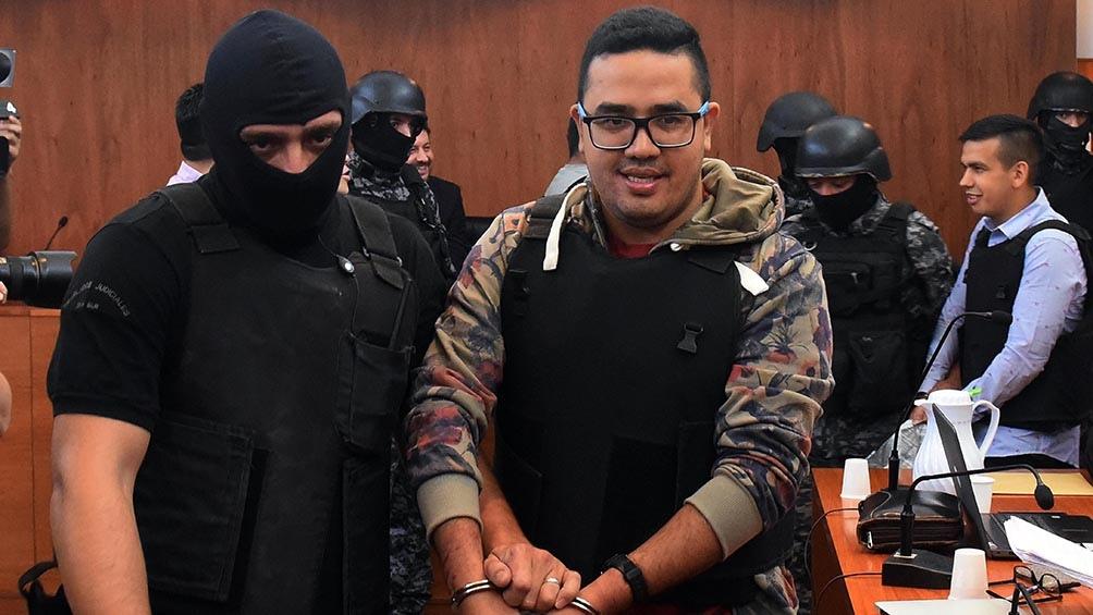 "Ariel ""Guille"" Cantero dijo que mandaba sicarios para realizar las balaceras. Foto Sebastián Granata"