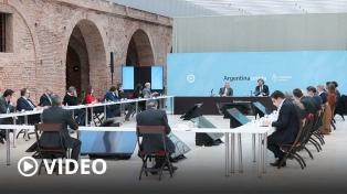 Recuperación económica y gestión, ejes de la reunión del Presidente con sus ministros