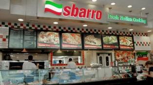 La cadena estadounidense Sbarro se instala en la Argentina y abrirá 35 locales en 4 años