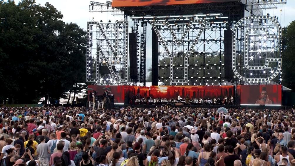"""El """"We love NYC: The Homecoming Concert"""" se realizó en el Central Park de New York"""