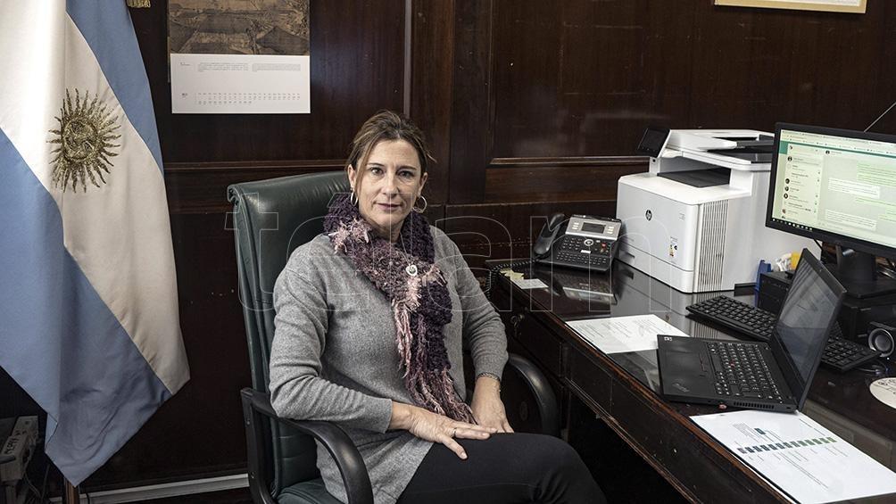 María Apólito subrayó que el plan de largo plazo es incrementar las exportaciones de valor agregado. Foto: Pepe Mateos