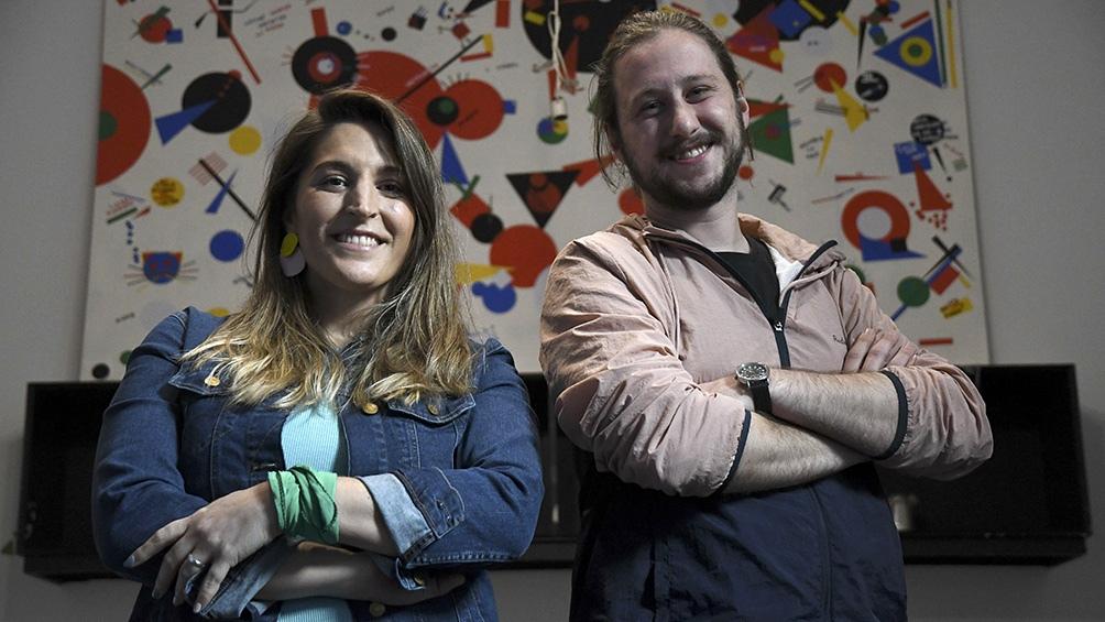 La socióloga Manuela Castañeira (36) en 2019 fue candidata a presidenta por su espacio. Federico Winokur (28) es actualmente el precandidato más joven de las PASO. (Foto: Raúl Ferrari/Télam).