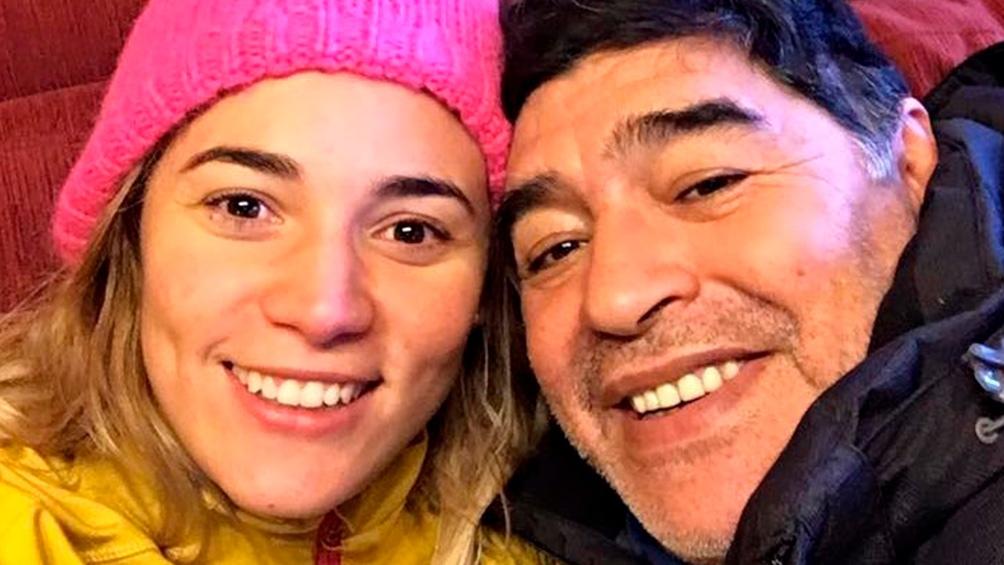 """Oliva contó que cuando vivían en Dubai, Maradona se hacía todo tipo de chequeos que le daban """"buenos resultados"""". Foto: Archivo Télam"""