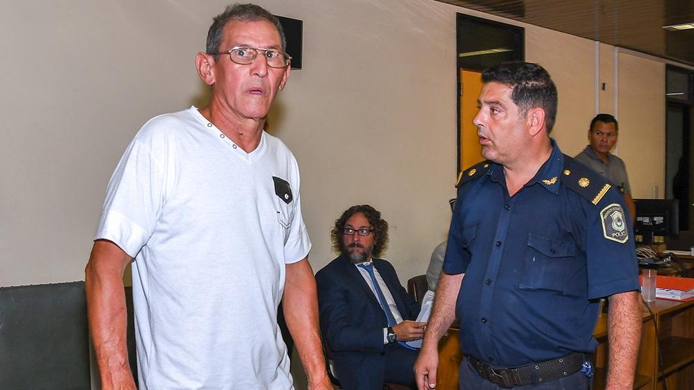 Hugo Bermúdez, uno de los condenados a prisión perpetua en 2017.