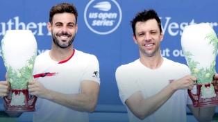 Horacio Zeballos y el español Granollers ganaron en dobles el Masters 1000 de Cincinnati