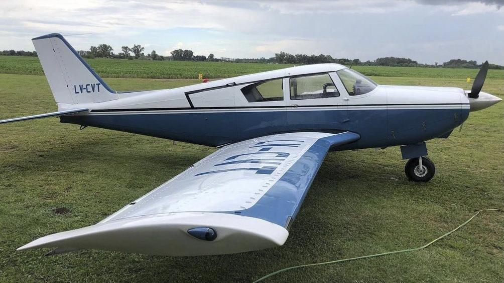 Un avión argentino cayó cerca de Punta del Este y murieron sus dos tripulantes