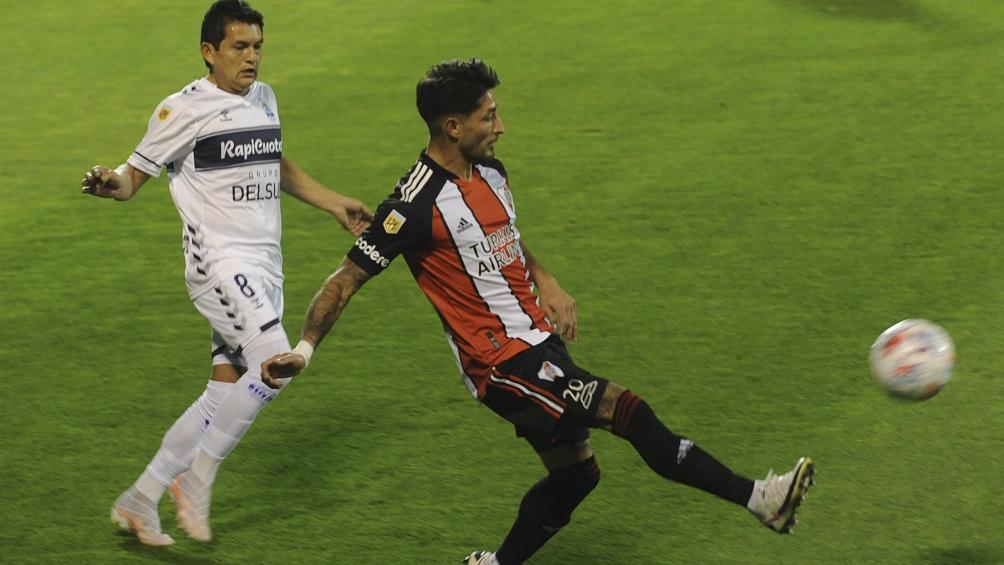 Tras quedar afuera de la Copa, River afrontó el choque con Gimnasia y sacó un punto (Foto: Eva Cabrera).