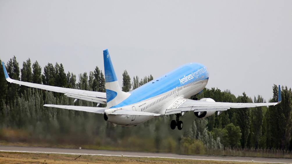 Aerolíneas Argentinas aumentará la frecuencia de sus vuelos a partir de noviembre