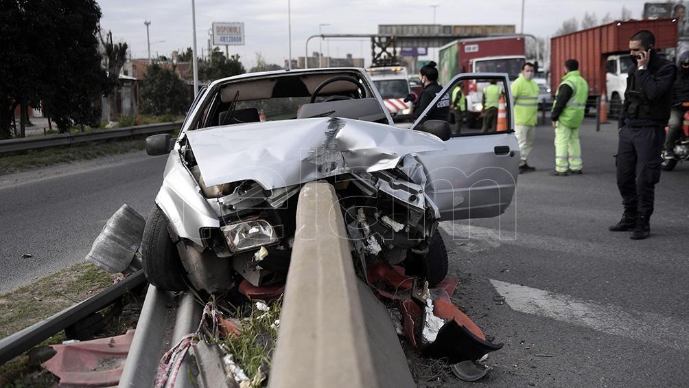 Las primeras informaciones indicaron que no hubo otro vehículo implicado en el siniestro.