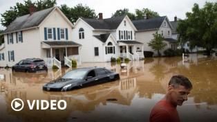 Las inundaciones en el sur de EEUU provocan al menos 21 muertos y decenas de desaparecidos