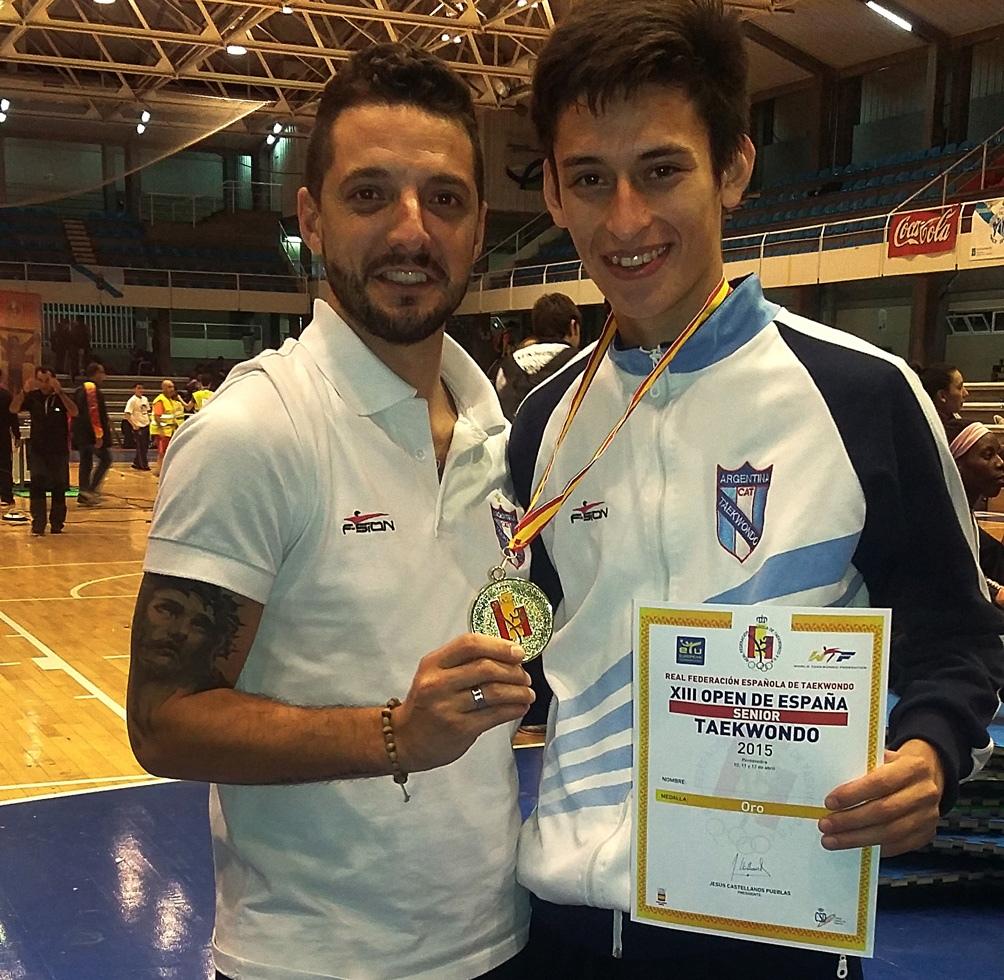 Gabriel Taraburelli y Lucas Guzmán (foto archivo).
