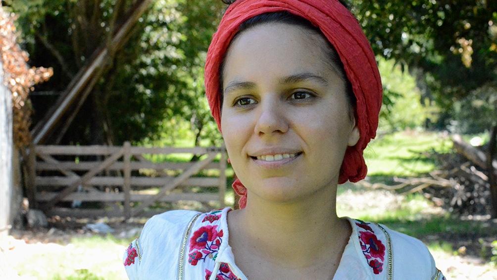 La poeta y periodista Jimena Arnolfi.