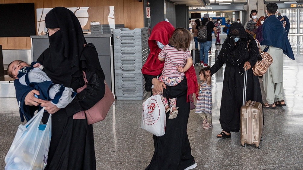 La UE quiere evitar la llegada masiva de refugiados.