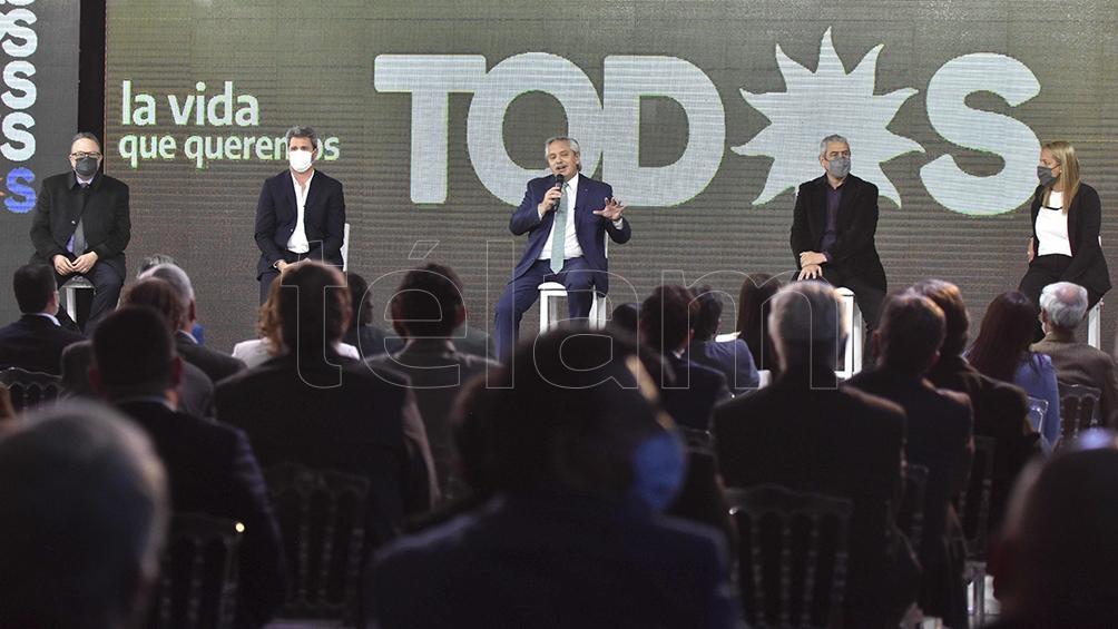 El Presidente advirtió sobre la dimensión de la deuda adquirida por el Gobierno de Mauricio Macri.