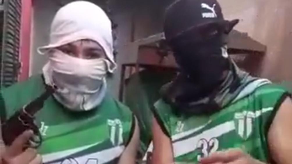 Hinchas grabaron un video amenazando al público rival: