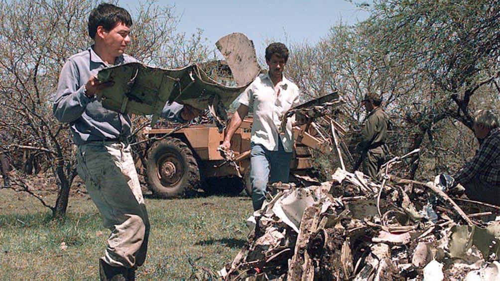 El avión de Austral Líneas Aéreas se estrelló el 10 de octubre de 1997
