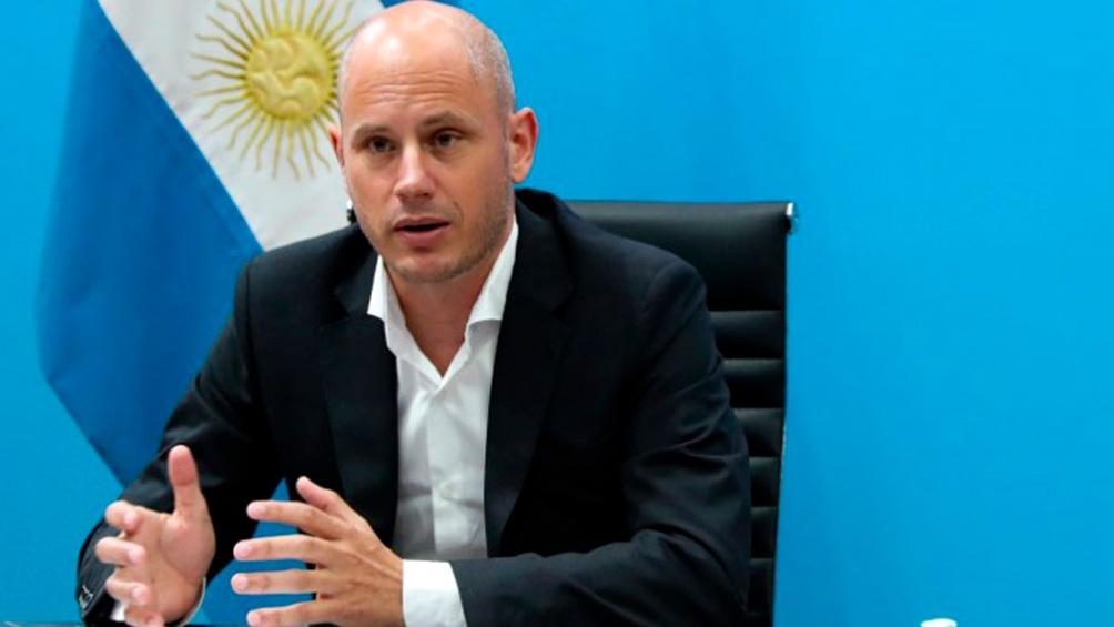 """Merediz  explicó que se lanzaron desde el Ministerio de Desarrollo Productivo """"31 líneas de crédito por $ 230.000 millones."""