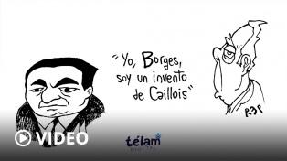 """Manos Libres: """"Yo, Borges, soy un invento de Caillois"""""""