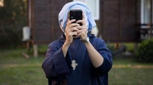 """Fue """"desalojada"""" la monja que ocupaba ilegalmente terrenos de Punta Querandí"""