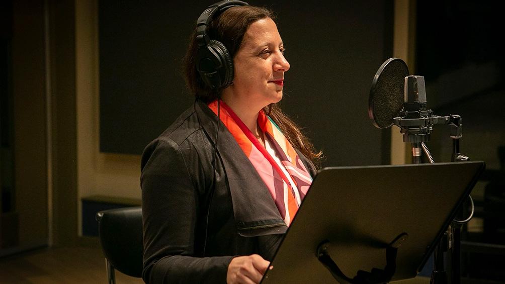 Carolina Duek, y una propuesta para escuchar (Foto Prensa MDC: Fede Kaplun)