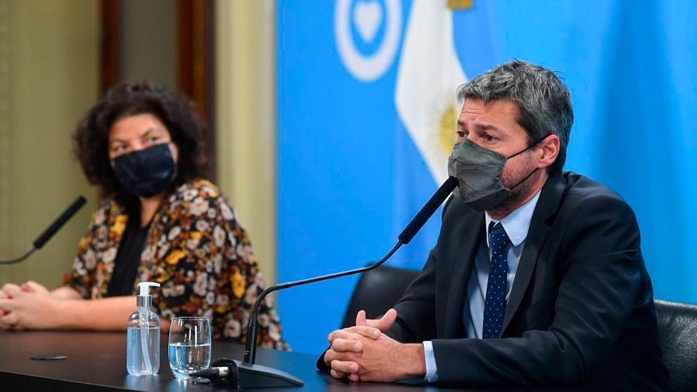 Vizzotti y Lammens dos participantes de la reunión.