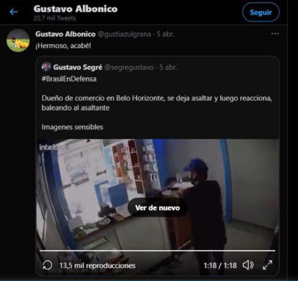 """""""Exigimos que separen a Gustavo Albónico"""", dice la carta. Foto: Carreira Victor"""