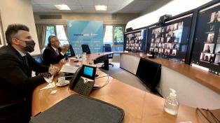 El Presidente dio clases de Derecho en la UBA de manera virtual