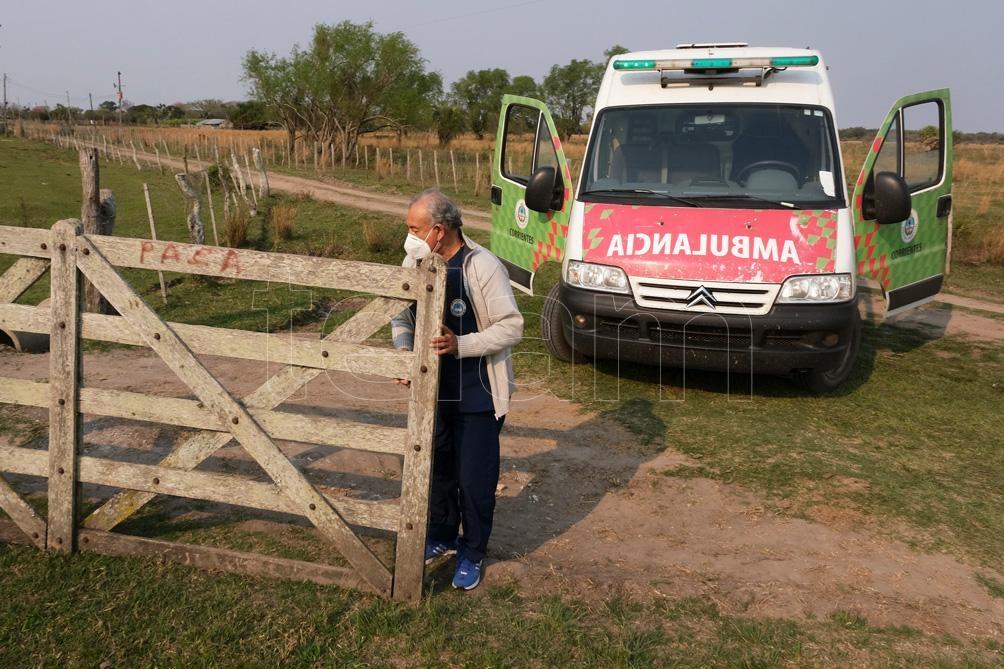 El equipo de salud recorrió un radio de más de 15 kilómetros en los cuales hay viviendas aisladas. Foto: Germán Pomar