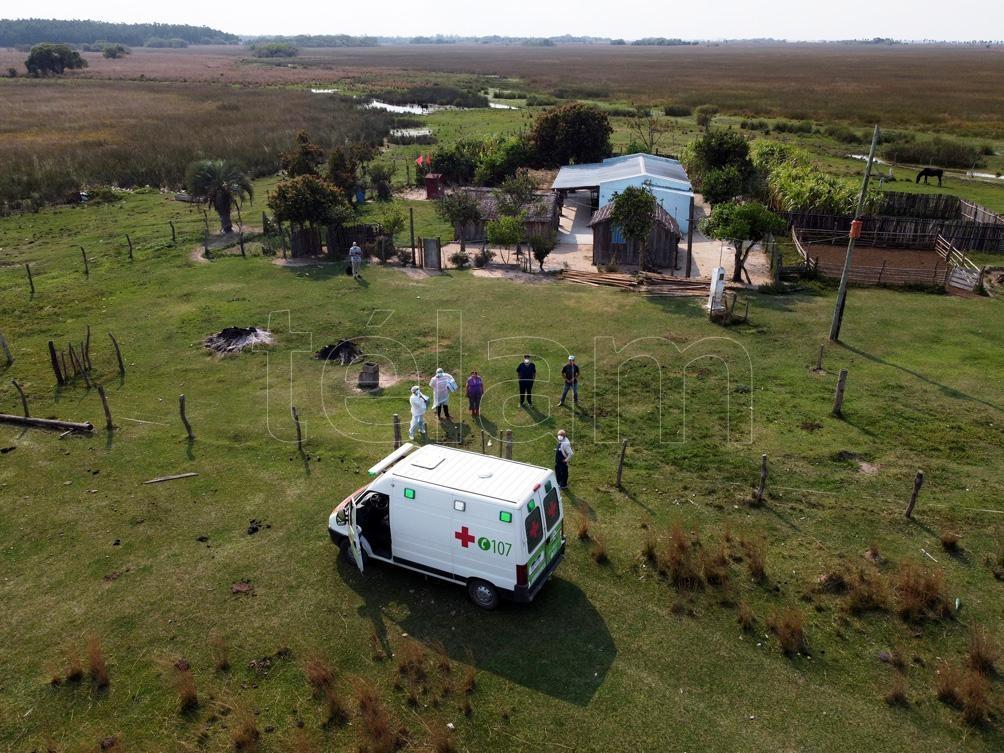 En las últimas 24 horas, el municipio de Caá Catí registró un caso de coronavirus y llegó así a los nueve activos. Foto: Germán Pomar