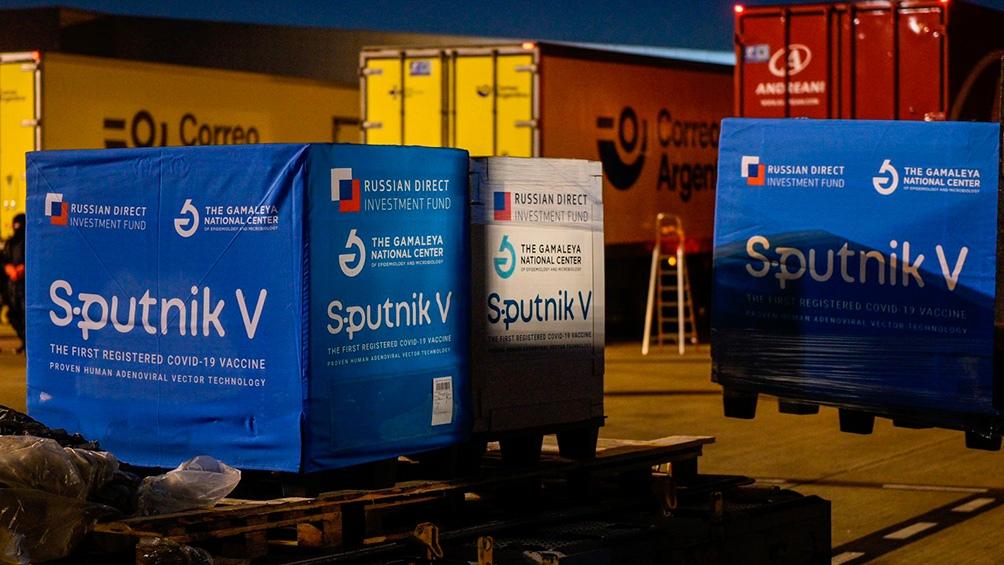 Este fin de semana se distribuyen 1 millón de dosis de componente 1 y 2 de Sputnik V