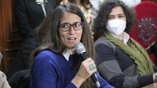 """Gómez Alcorta: """"La Ley Micaela es imprescindible y absolutamente central"""""""