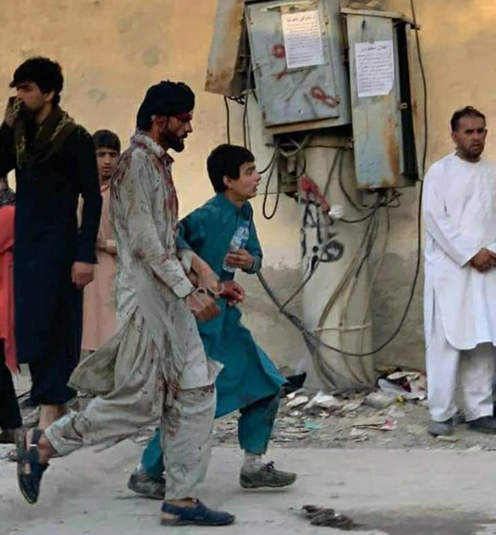Al menos 11 personas murieron en una explosión afuera del aeropuerto de Kabul, informó la cadena de noticias árabe Al Jazeera.