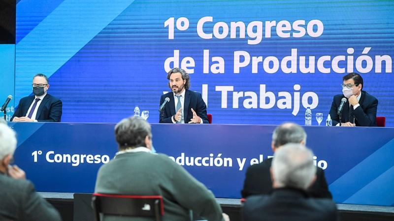 """Cafiero: """"La Argentina está en un camino de recuperación que ya se ve"""""""