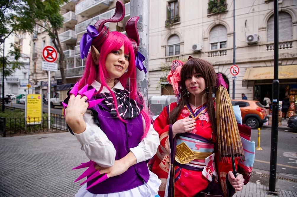 En Japón nace el Cosplay: costume y play, interpretar o jugar disfrazado (Foto: Lara Sartor)