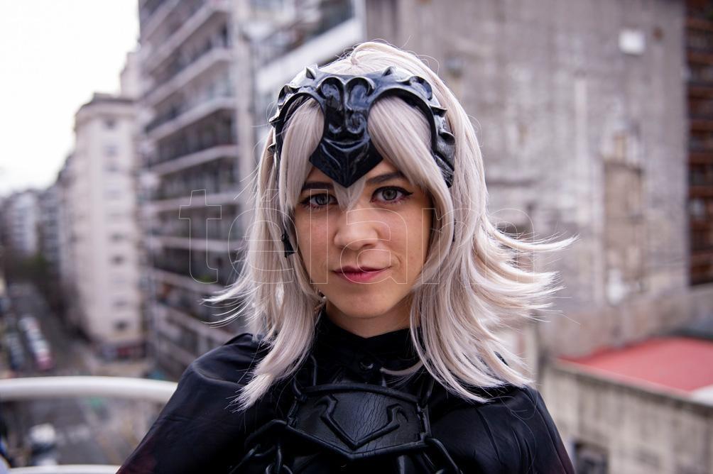 """""""El dibujo y el cosplay son mis dos pasiones"""", describe Cooke (Foto: Lara Sartor)"""